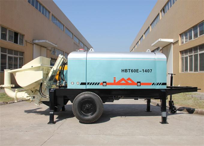 Electric Motor Slide Valve Type Hydraulic Concrete Pump for Foundation Pile Pressure Grouting