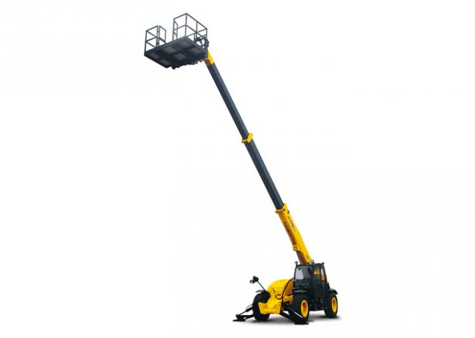Fully Sealed Wet Multi Disc Brakes Extendable Boom Forklift for Construction Building Lifting
