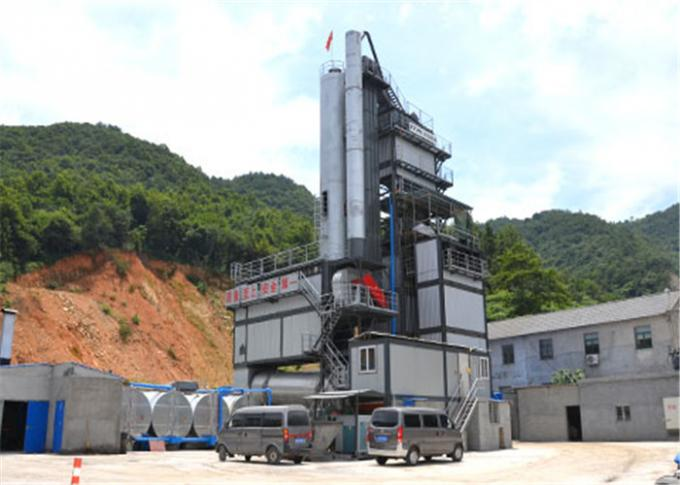 436KW Electric Power Asphalt Mixing Plant With 200tons Finished Storage Bin