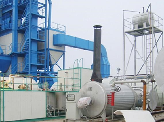 280~320 T/H Asphalt Mixing Plant With 200 Tons Finished Storage Bin , 922KW Power