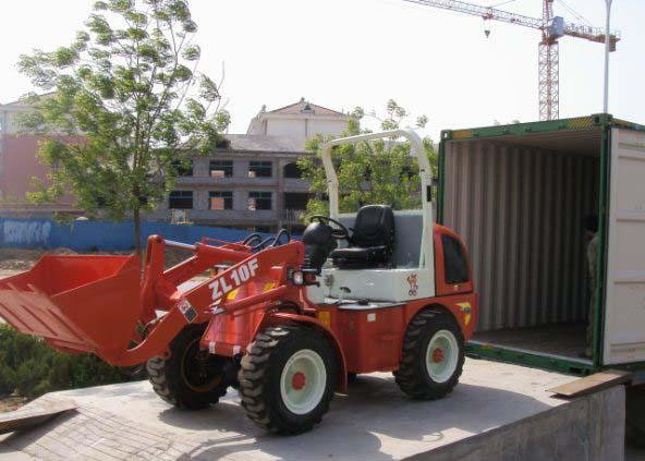Mini agriculture SWM610 Front End Wheel Loader With European Standard