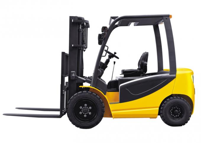 Full Electric AC 80V 550AH Battery Operated Industrial Forklift Truck , 3 Ton Forklift CPD30